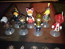 Final Fantasy III 3 Square Enix 2006 Trading Arts Mini Figure Complete Set of 7
