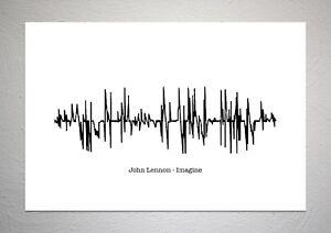 John-Lennon-The-Beatles-Imagine-Sound-Wave-Print-Poster-Art