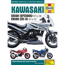 Kawasaki EX500 GPZ500S ER500 ER-5 1987-2008 Haynes Workshop Manual