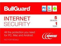 BullGuard Internet Security 2018 - 5 Device / 1 Year + Acronis True Image 2018 - 1 Device (Sleeve)