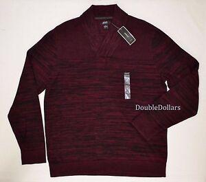 69-50-Alfani-Men-039-s-Elory-Textured-Port-Combo-XL-Shawl-Collar-Pullover-Sweater