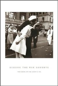 NURSE KISSING SAILOR NEW YORK CITY POSTER FULL SIZE