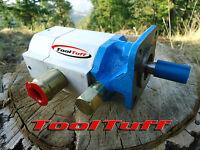 16gpm Hydraulic Log Splitter Pump, 2 Stage Hi Lo Gear Pump, For Canada
