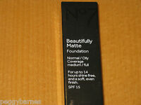 No7 BEAUTIFULLY MATTE FOUNDATION 30ml SHADE  BEIGE  NEW/BOXED RRP £14.99P