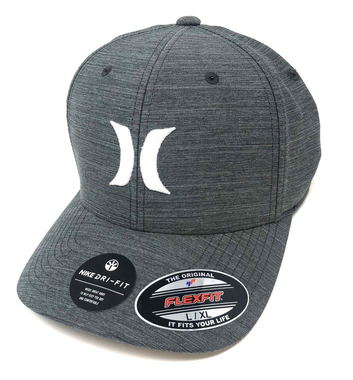 New HURLEY Verdone Mens Trucker Flex Fit Cap Hat