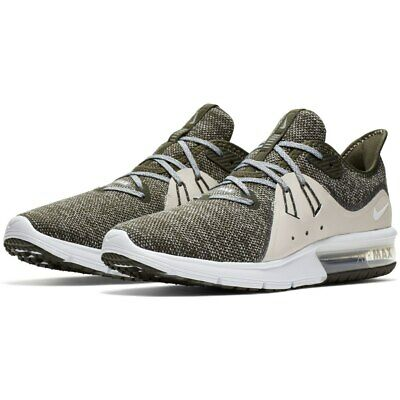 New NIKE Air Max Sequent 3 Mens green beige sneaker all sizes