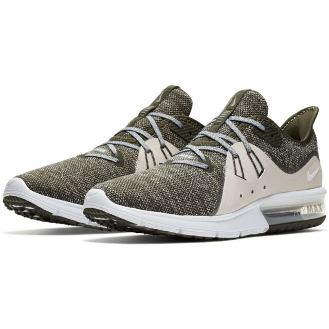 New Nike Air Max Sequent 3 Mens Running Shoes Sneakers SequoiaWhite Size 11.5