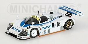 Mazda 787 B Kennedy Johanson 24h Le Mans 1991 1:43 Modèle Minichamps