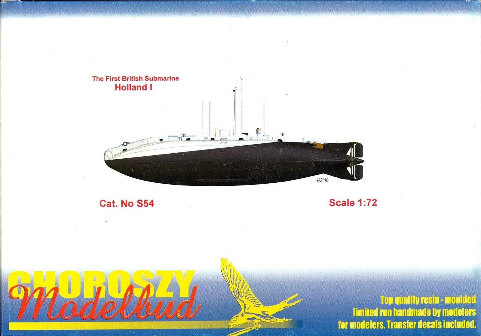 Chguldszy modellllerler 1  72 HOLAND I Första brittiska Submarin