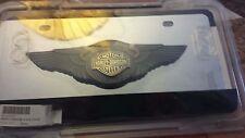 Genuine Harley 110th Anniversary Logo License Plate Limited Edition Obsolete NIP