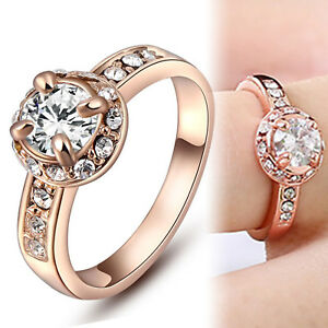 18K-ROSE-GOLD-GF-1CT-Round-SOLITAIRE-SIMULATED-DIAMOND-ANNIVERSARY-WEDDING-RING