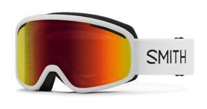 Smith-Vogue-Ski-Snow-Goggles-White-Frame-Red-Sol-X-Mirror-Lens-New-2021