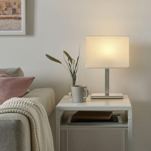IKEA  Tischlampe Nachttischlampe Wohnzimmerleuchte Regalleuchte Lampe 36cm A++