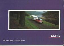 Ci ELITE AND ELITE SE CARAVAN SALES BROCHURE 1991