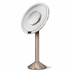 Simplehuman-ST3011-Sensor-Mirror-Pro-20cm-Rose-Gold-Alt-Magnifying-Mirror-B