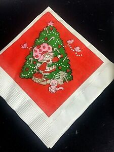 Vintage-Strawberry-Shortcake-Christmas-Napkins-10-Decoupage