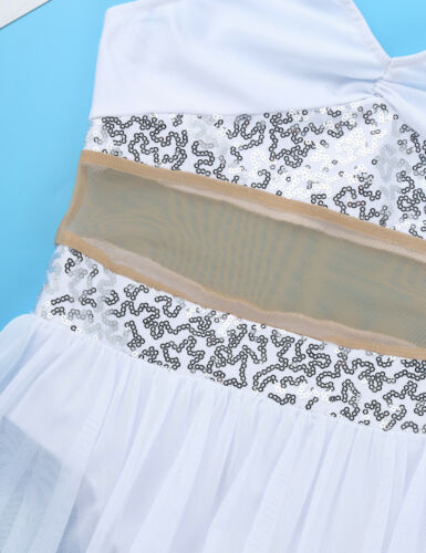 Details about  /Girls Lyrical Dress Ballet Dance Leotard Skirt Kids Dancewear Gymnastics Costume