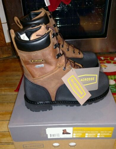"""LaCrosse HIGHWALL 8/"""" 1000g Safety Toe Met Guard 00552089 NEW Size 8 WIDE"""