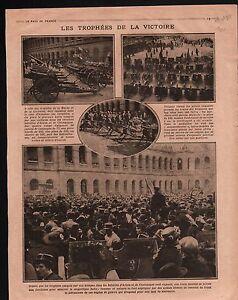 WWI-Bataille-d-039-Artois-amp-Champagne-Esplande-des-Invalides-Paris-1915-ILLUSTRATION