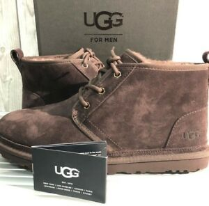 3f3865a9c76 Details about Brand New UGG AUSTRALIA MEN'S NEUMEL Suede Chukka Boots 3236  Espresso 11