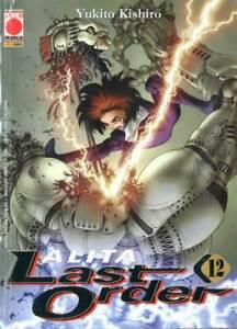 100% Vrai Fumetto Planet Manga Alita Last Order Numero 12