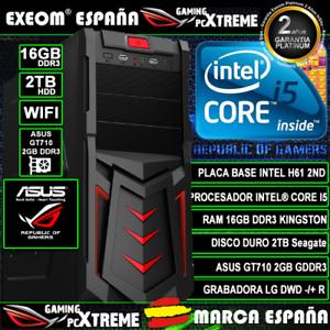 Ordenador-Gaming-Pc-Intel-i5-16GB-DDR3-2TB-GT710-2GB-WIFI-Windows-10-Sobremesa