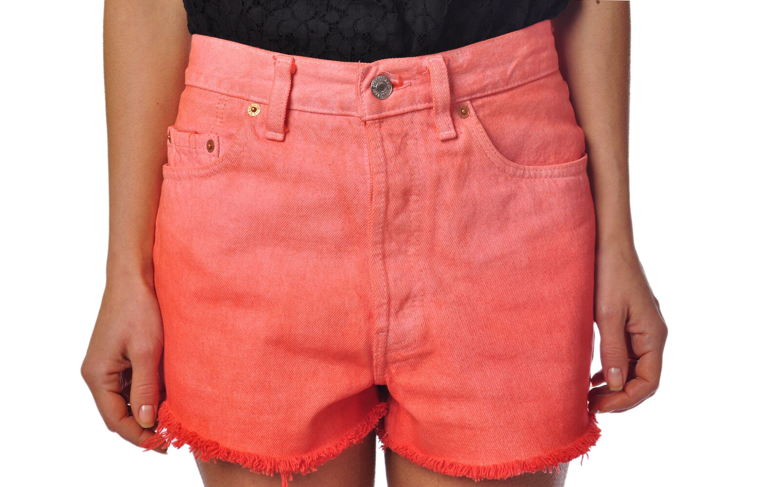 Different 501  -  Shorts - female - Red - 256523A180039