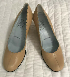 Women/'s Shoes Cynthia Rowley ASPEN Classic Pumps Heels Leather Blush Nude