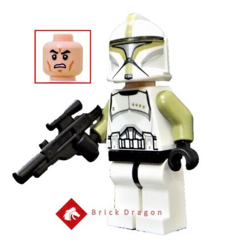 LEGO Star Wars Clone Trooper Sergeant minifigure from set 75000