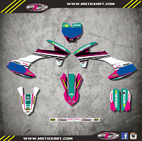 Ktm 50 2016 Graphics Kit Strike Pink Style Stickers Decals Mx Dirt Bike