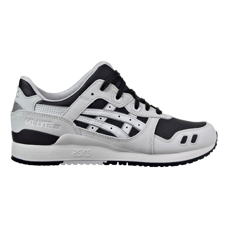 Men's Asics Gel Lyte III Black/Glacier Grey Athletic Fashion Sneakers H7L3L 9096