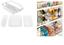 Storage-Holder-Refrigerator-Tidy-Clear-Drinks-Food-Fresh-Placer-Fridge-Organiser thumbnail 2
