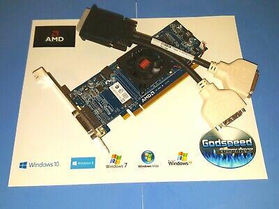 HP Pavilion a6109n a6110n a6112n a6202n Radeon Dual DVI Monitor Video Card