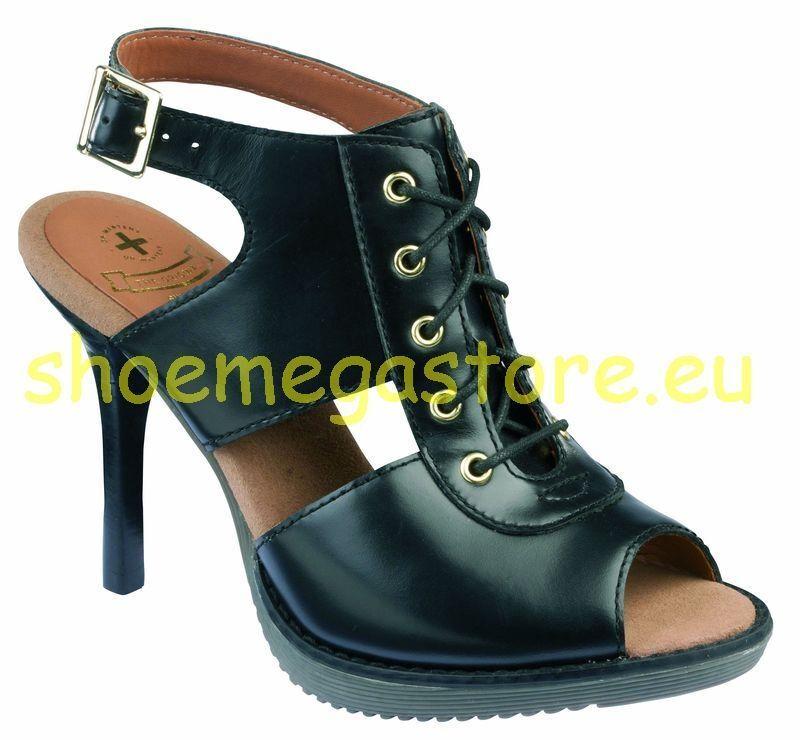Dr Martens Doc Slip On Sandal Raina Black 14310001 The Original
