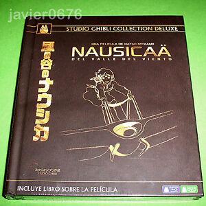 NAUSICAA DEL VALLE DEL VIENTO GHIBLI COLLECTION DELUXE BLU-RAY + DVD + LIBRO