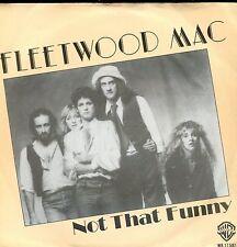7inch FLEETWOOD MAC not that funny HOLLAND 1979 EX+