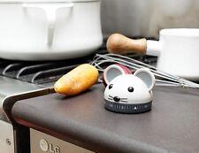Kikkerland Mouse Kitchen Timer NEU/OVP Maus Küchentimer Kurzzeitmesser 60 Min