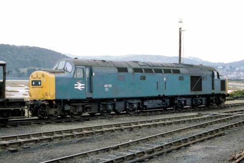 British Rail Class 40 40172 Llandudno Junction Yard 12//02//83 Rail Photo c