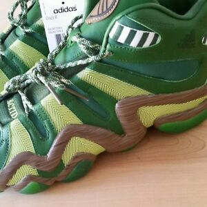on sale 95094 aebed Image is loading Portland-Timbers-Adidas-Crazy-8-Size-10-5