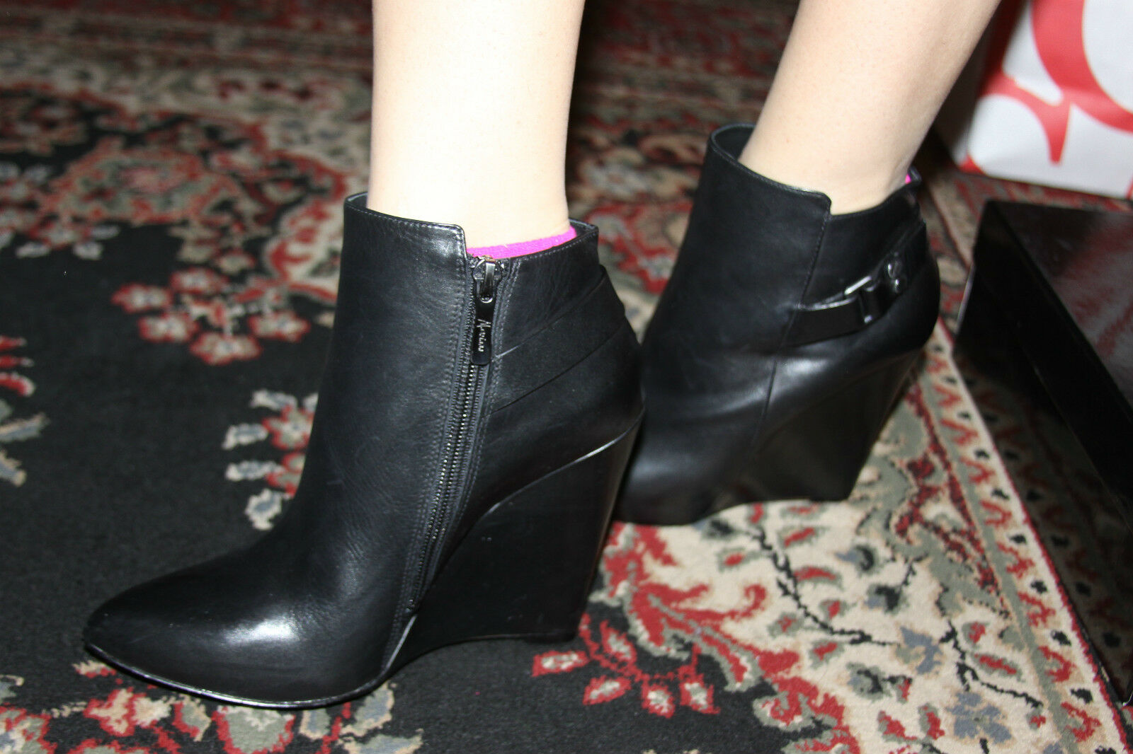 GUESS BY MARCIANO FRANCI ANKLE ANKLE ANKLE BOOTIE SIZE 6M a0104c