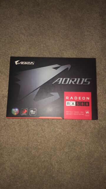 Gigabyte AORUS Radeon RX 580 4GB Graphic Cards GV-RX580AORUS-4GD