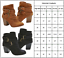 Womens-Ladies-Ankle-Boots-Low-Mid-Block-Heels-Buckle-Casual-Shoes-Sizes-US-6-10 thumbnail 2