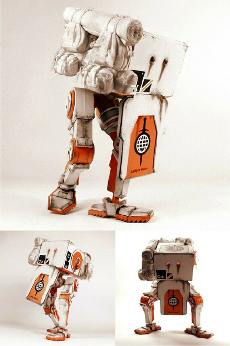 ThreeA 3A 1 6th CIVIC DEFENCE MULE REV REV REV 3 BIRDCAGE Collectible cifra Unopened acc647