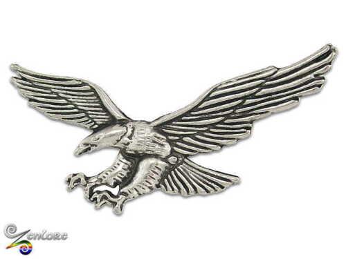 American Bald Eagle Raptor Hawk Falcon Biker USA Freedom Lapel Hat Tie Bag Pin!