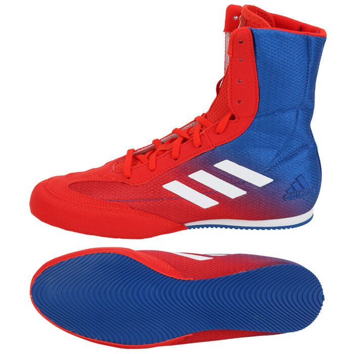 Adidas Box Hog Plus Boxing shoes (DA9896)  Boxer MMA Ring Sparring Boots  outlet