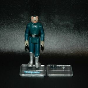 FACTORY-ERROR-DEFECT-Vintage-Star-Wars-BLUE-SNAGGLETOOTH-Kenner-Variant-w-Gun