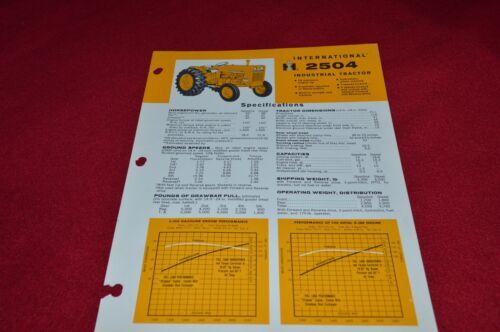 International Harvester 2404 Industrial Tractor Dealer's Brochure YABE14