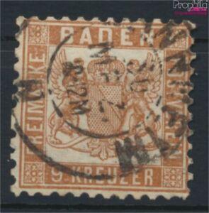 Baden-20a-Pracht-gestempelt-1862-Wappen-9158194