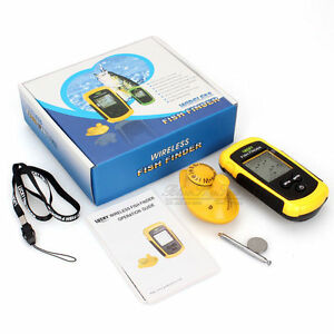 wireless fish finder sonar, fresh-salt water, brand new. 70-90, Fish Finder