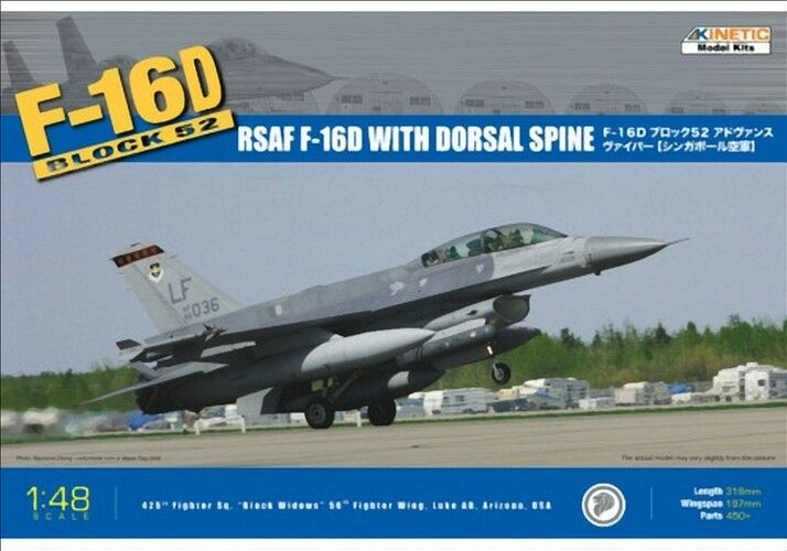 Bloque f-16d 52+ RSAF 1 48 kinetic